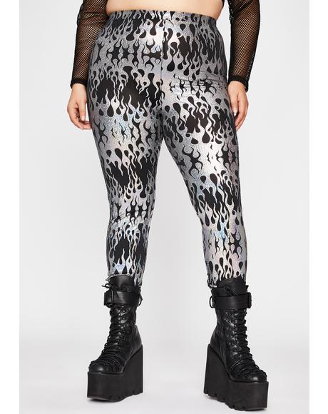 True Ravetopia Fuse Printed Leggings