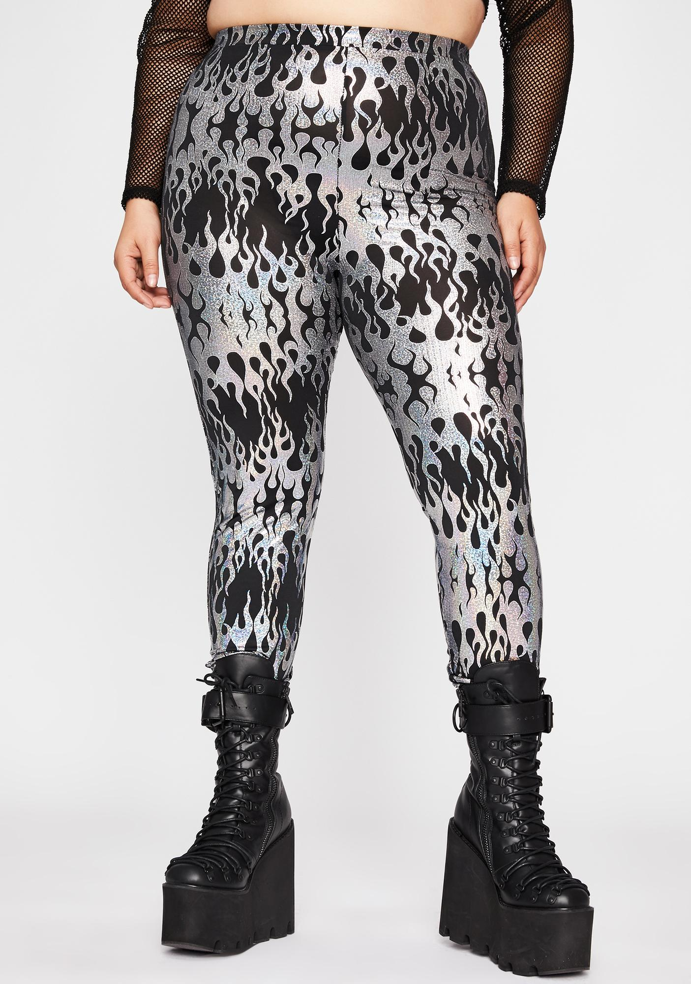 True Ravetopia Fuse Printed Leggings