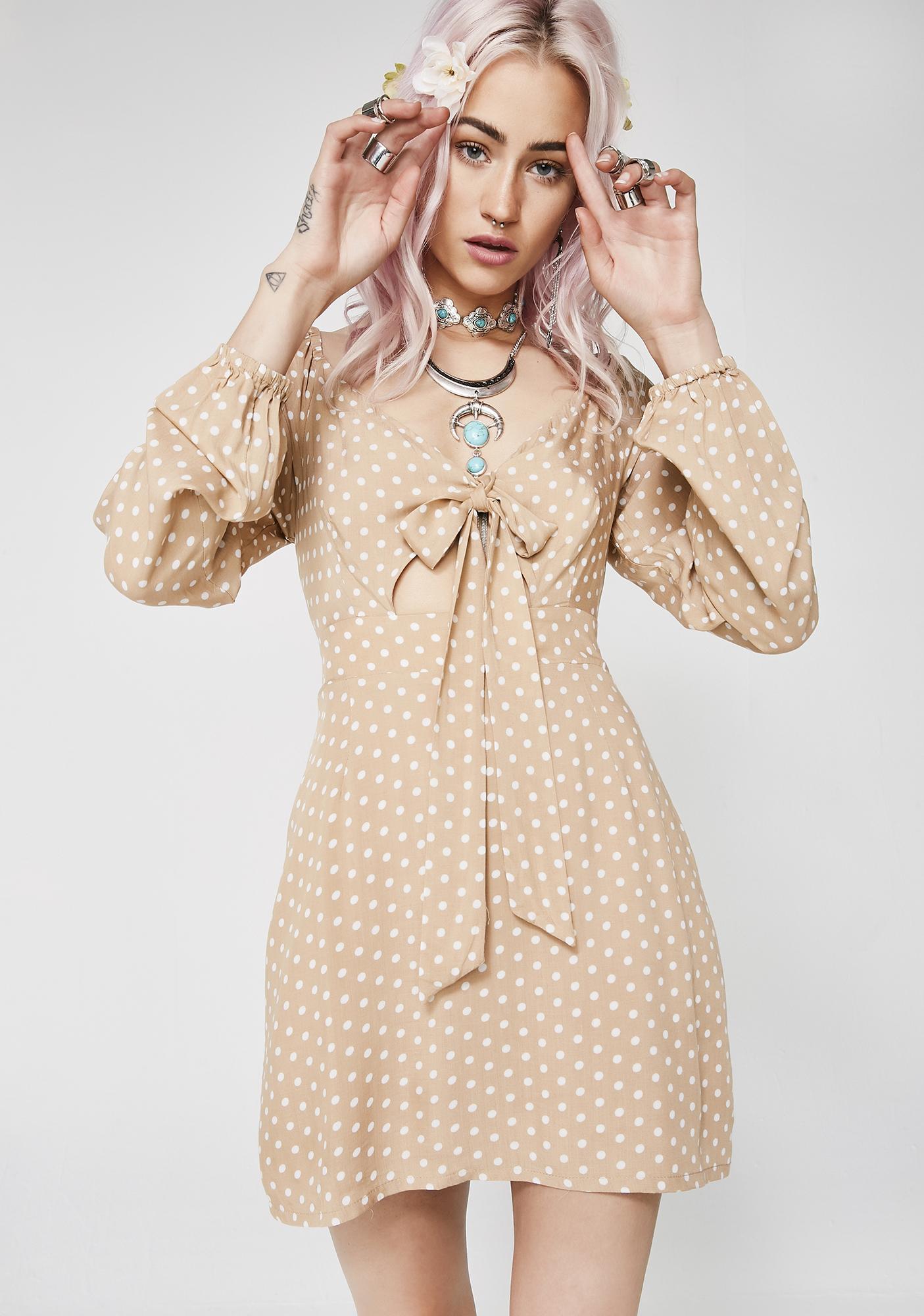 Prairie Princess Tie Front Dress