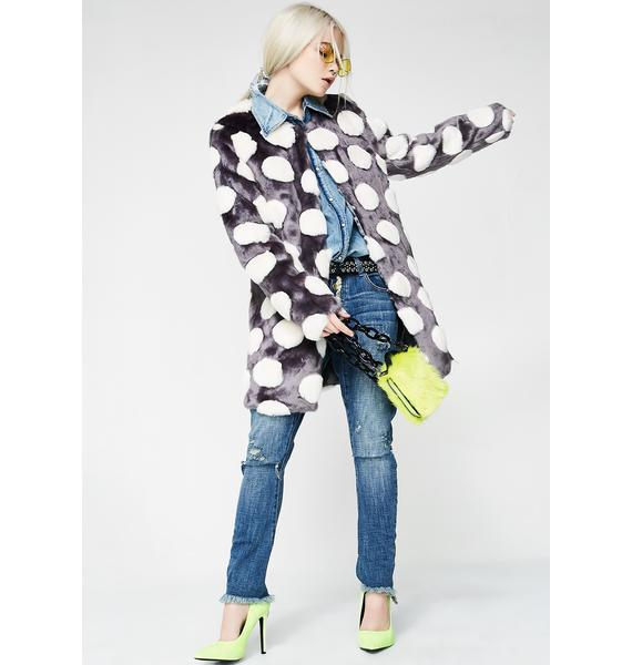 Unreal Fur Bubbles Coat
