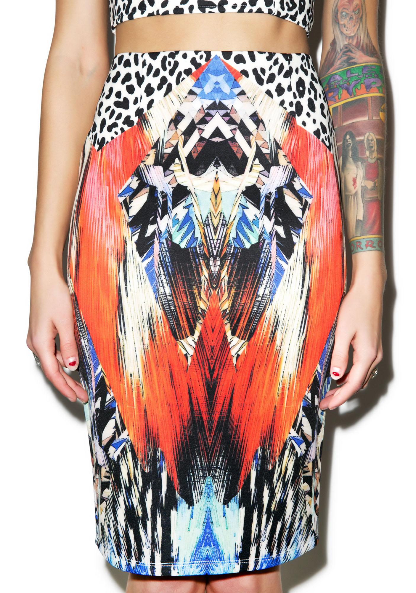 Rise of Dawn Animal Kingdom Skirt