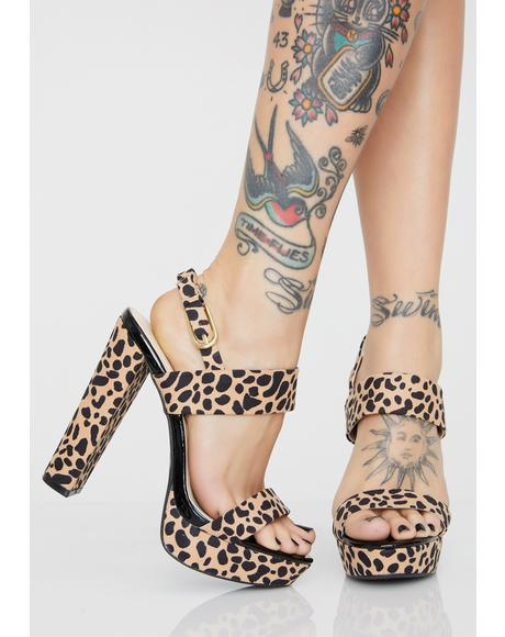 Feline Pretty As Always Platform Heels