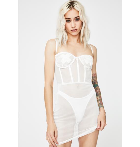 Kiki Riki Icy The Real Me Bustier Dress