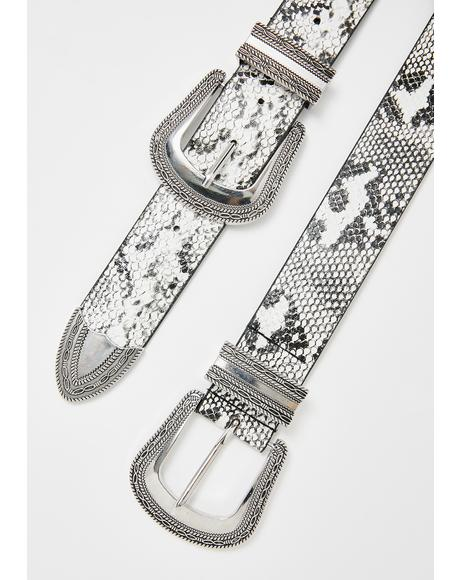 Vile Double Up Buckle Belt