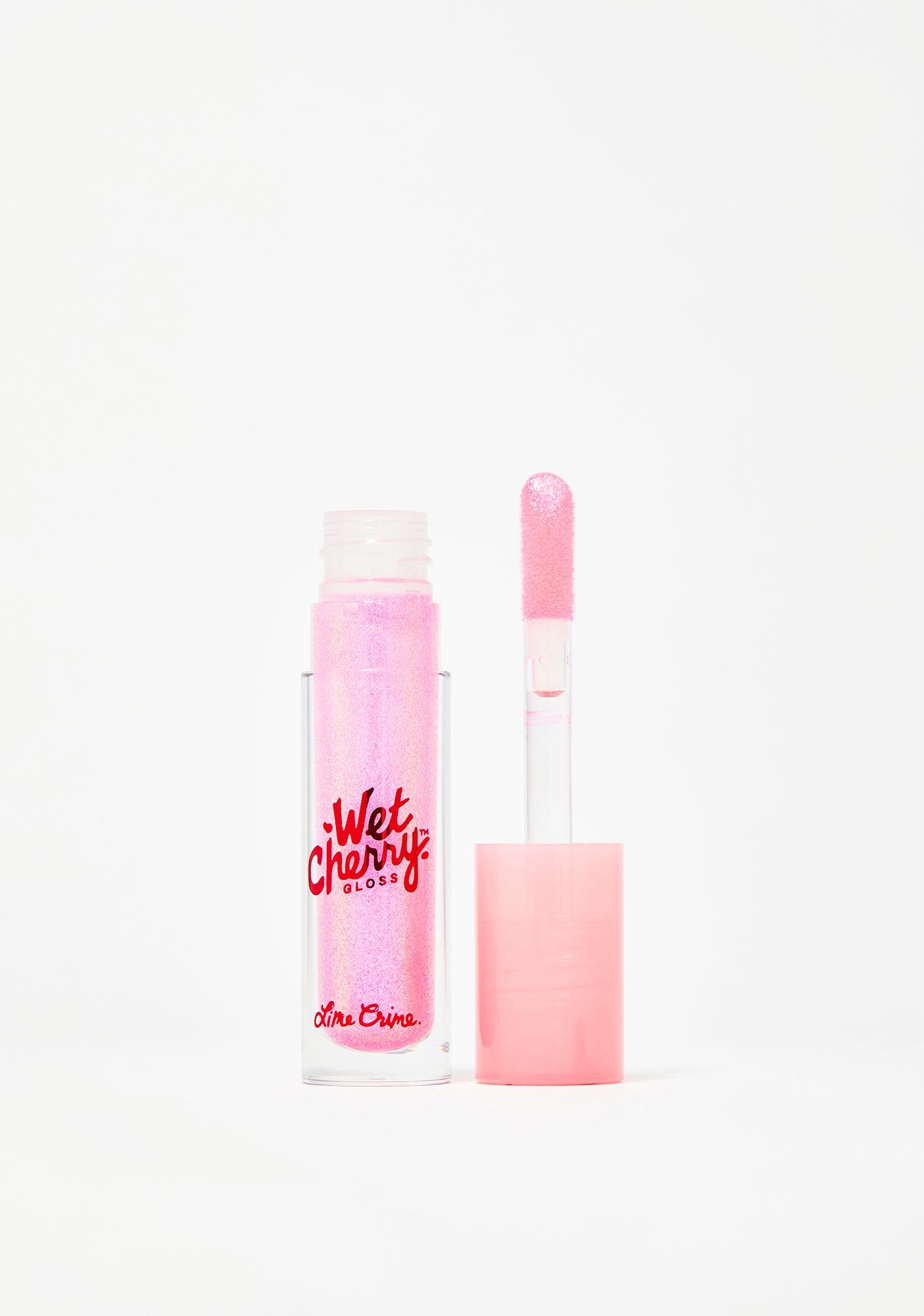 Lime Crime Juicy Cherry Wet Cherry Lip Gloss