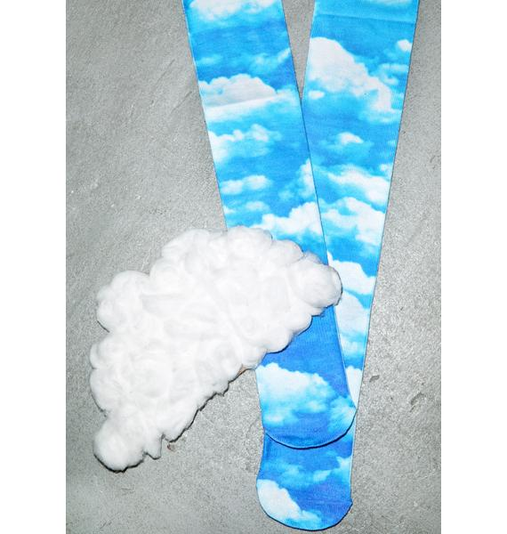 Odd Sox Sky High Knee High Socks