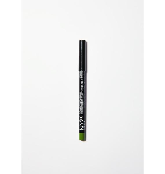 NYX  Acid Green Eye/Eyebrow Pencil