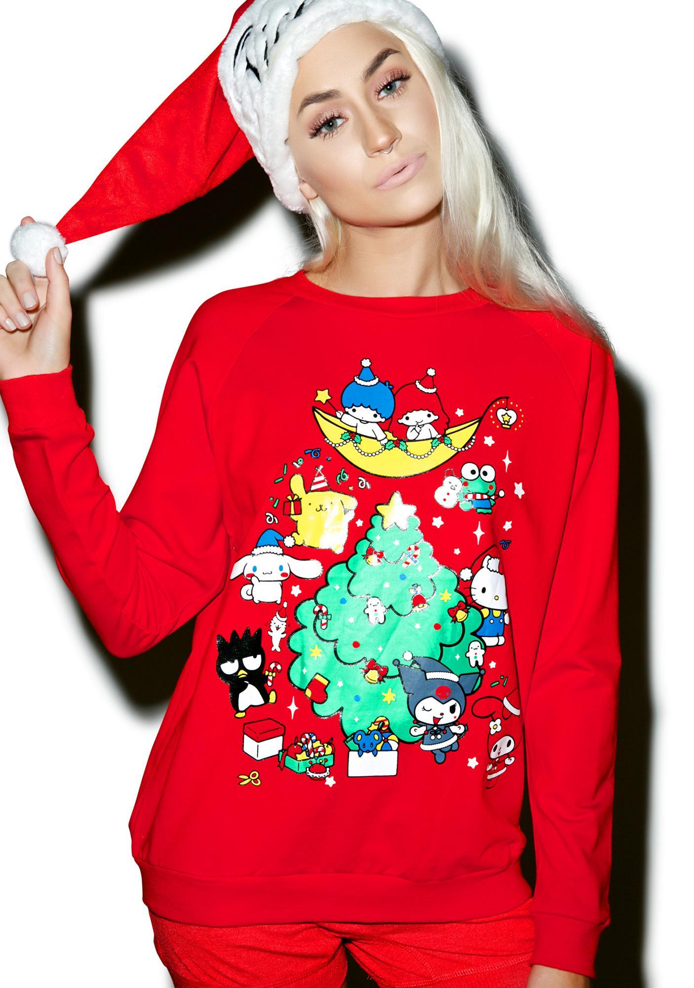 Japan L.A. Sanrio Holiday Sweatshirt