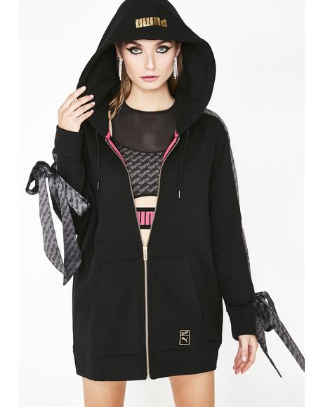 X Barbie Zip Up Hoodie