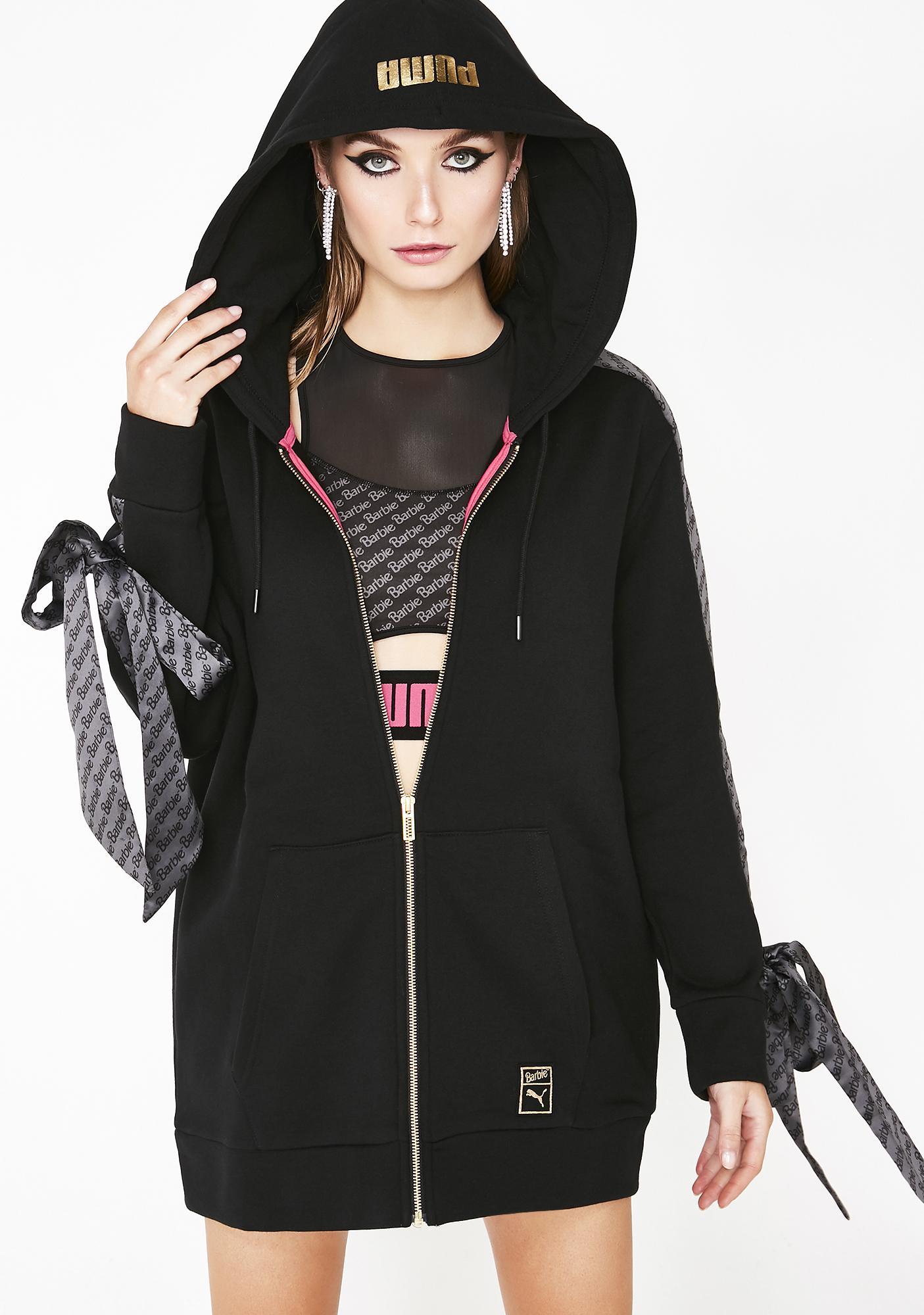 ece4ee2458 X Barbie Zip Up Hoodie
