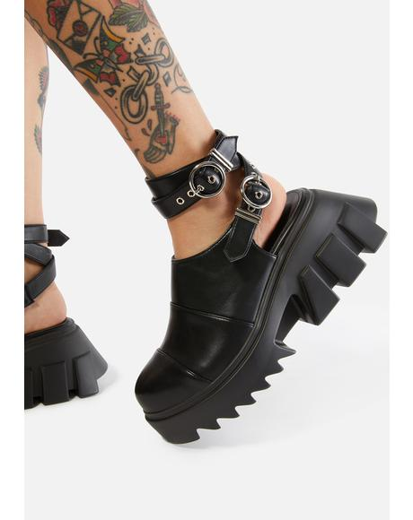 New Depths Platform Sandals