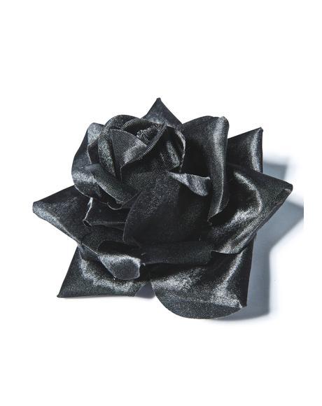 Rose Hair Clip