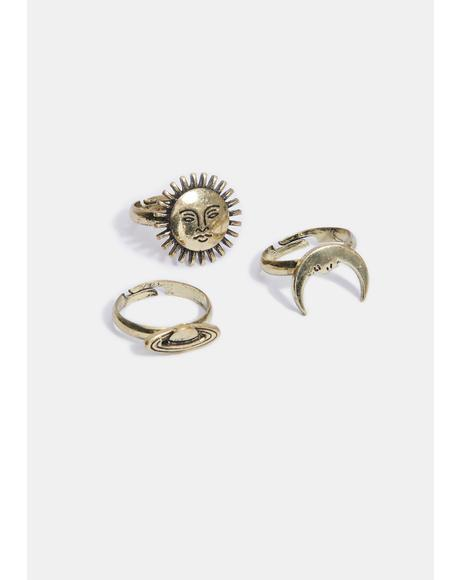 In Your Hands Ring Set