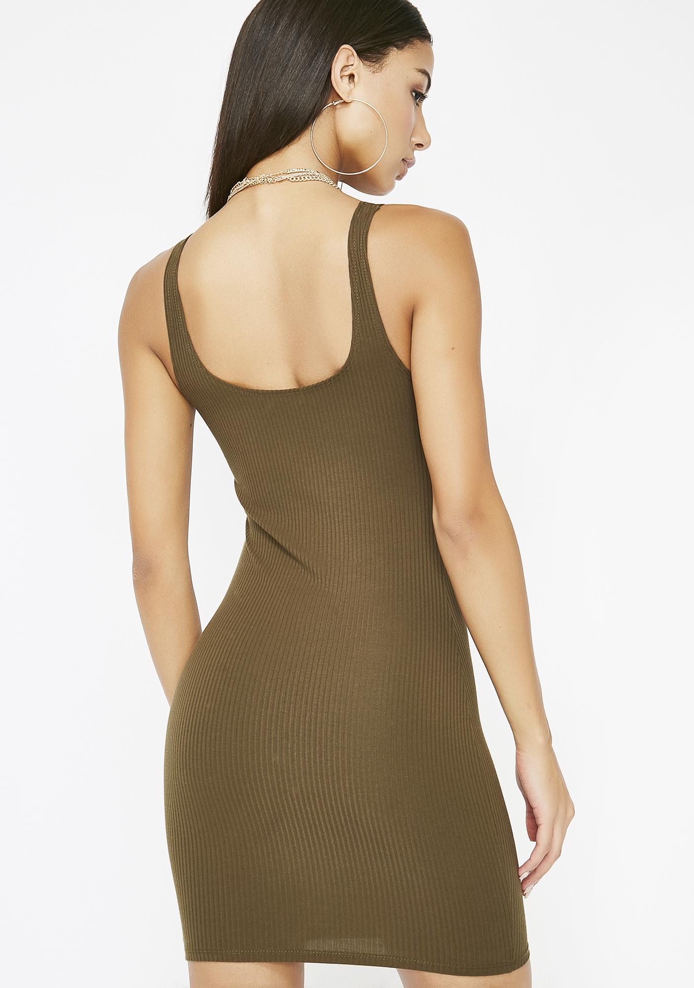 Takin' Calls Mini Dress
