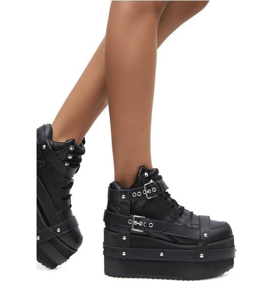 Y.R.U. Qozmo Bondage Platform Sneakers