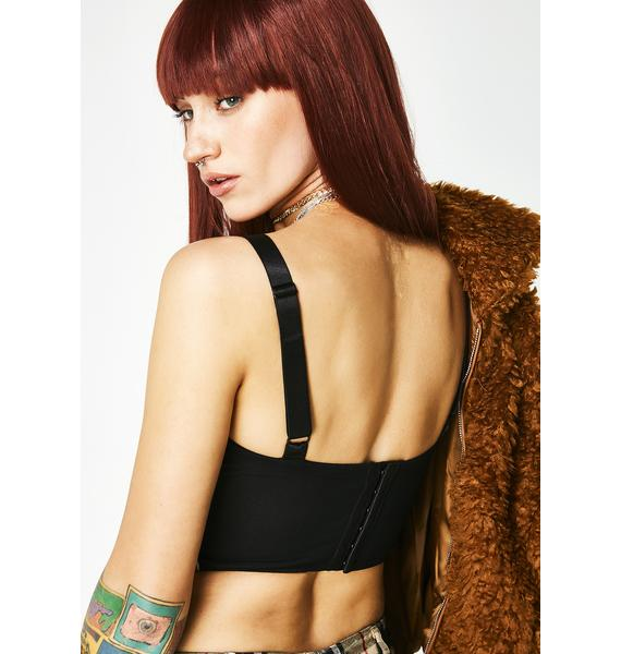 Poster Grl High Classy Bustier Top