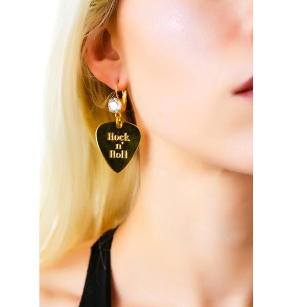 Anita K  Rock n' Roll Earrings