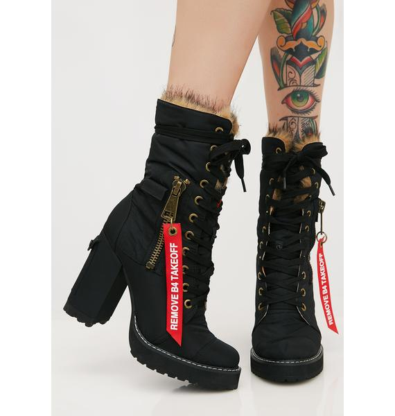Poster Grl Sky High Flight Boots