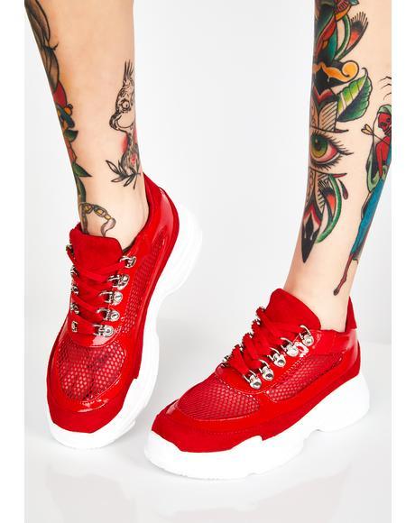 Siren Trendsetting Mesh Sneakers
