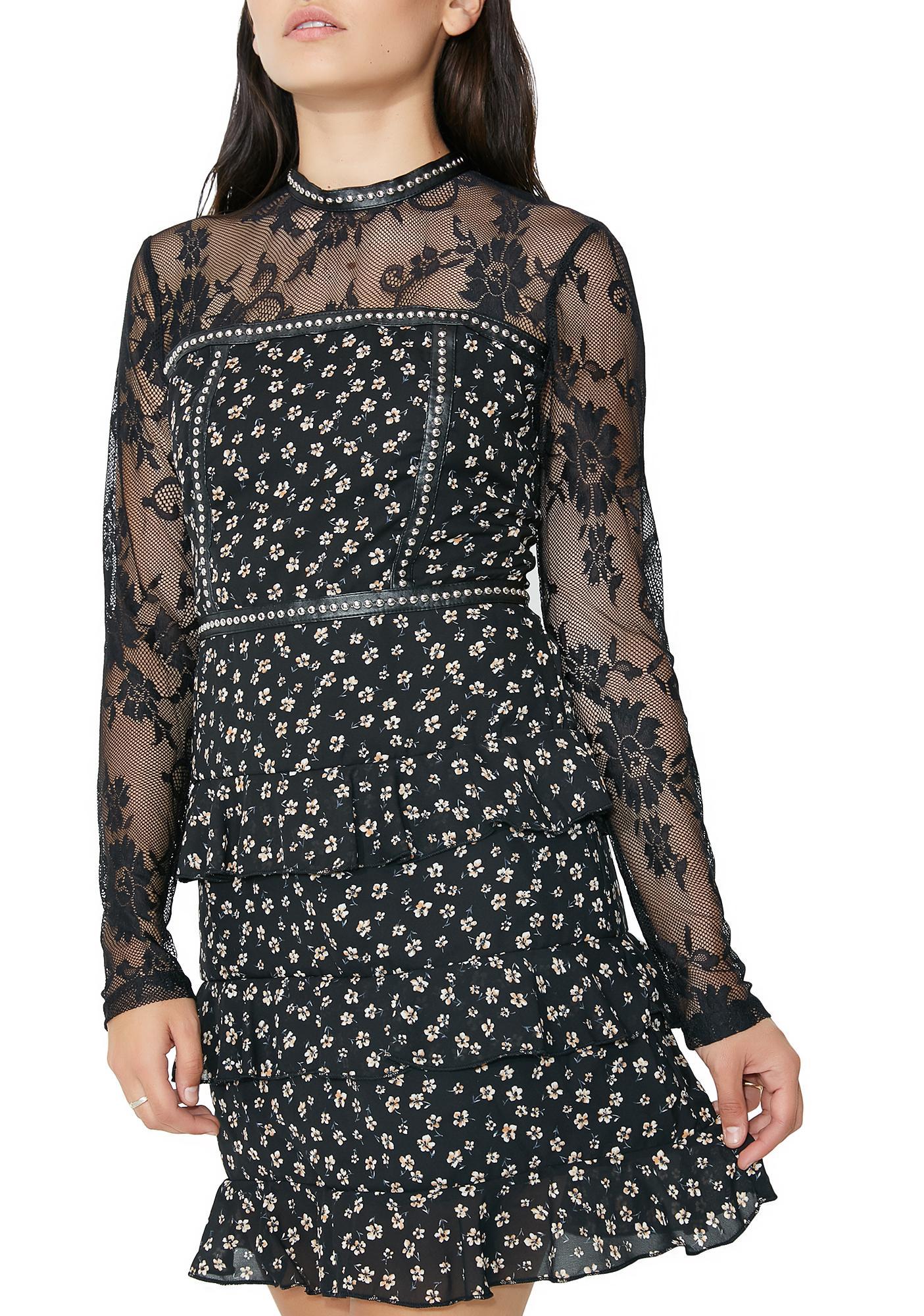 Glamorous Ditsy Daisy Floral Dress