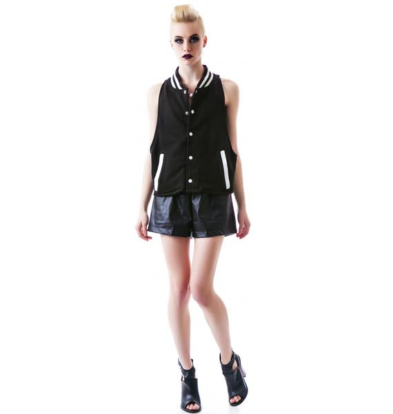 The Ragged Priest The Lindsay Halter Bomber Vest