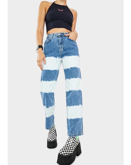 Lithium Striped Denim Jeans