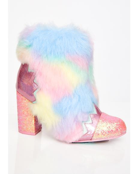 Zodiac Fur Boots