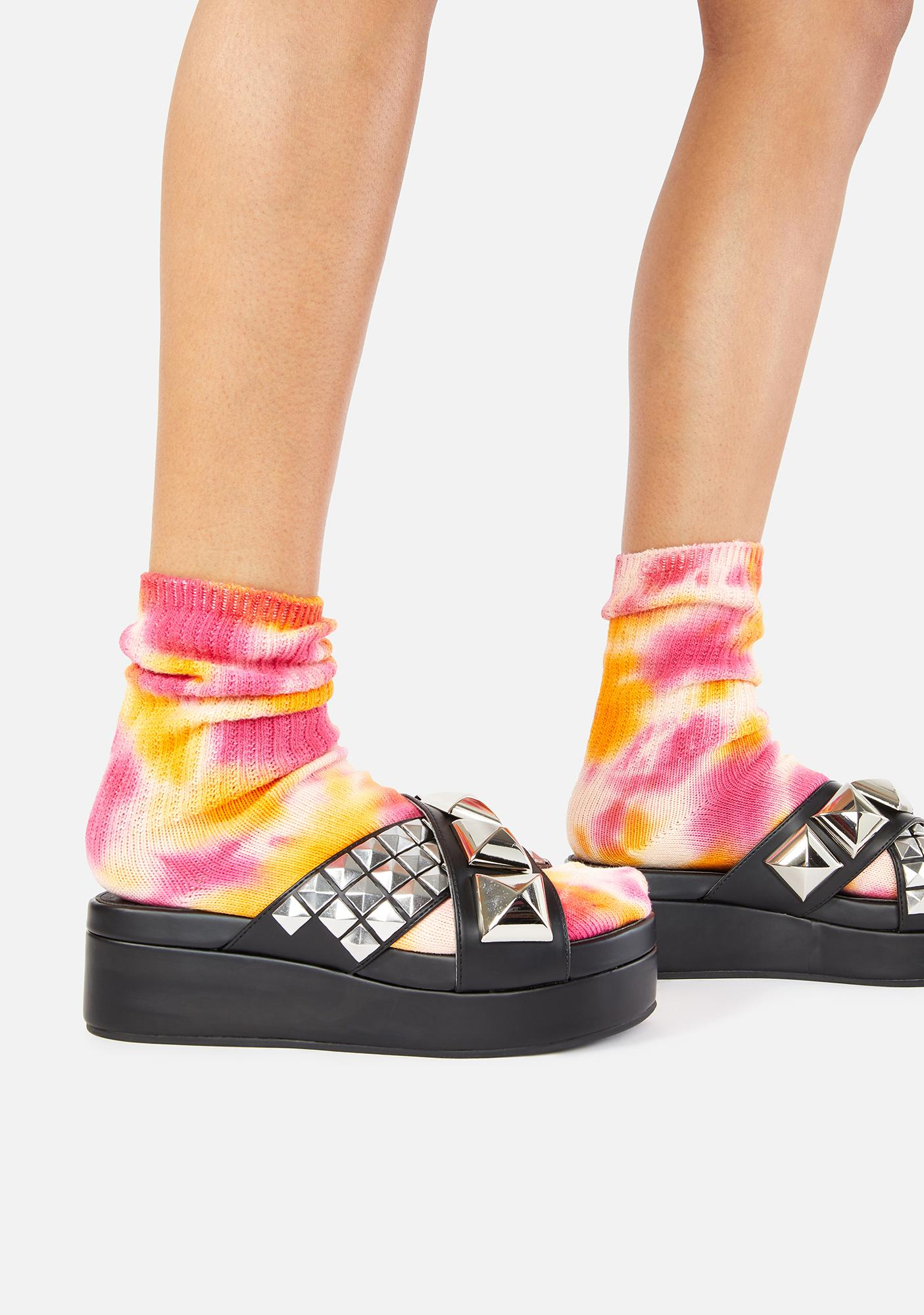 Charla Tedrick Radio Havana Slide Sandals