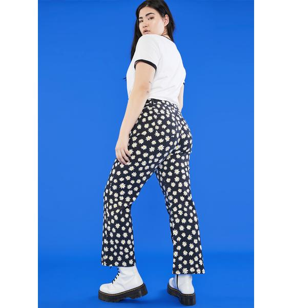 dELiA*s by Dolls Kill So What's The Buzz Flare Jeans