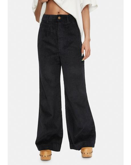 Maisie Hemp Corduroy Flared Pants