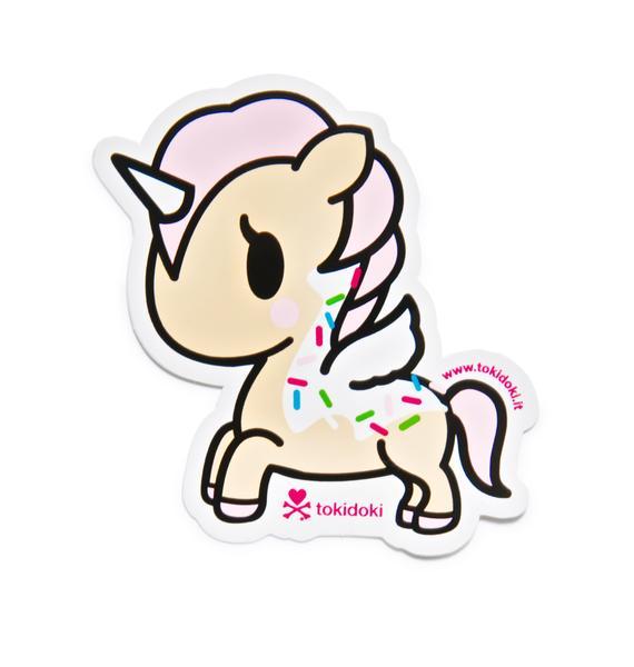 Tokidoki Unicorno Dolce Sticker