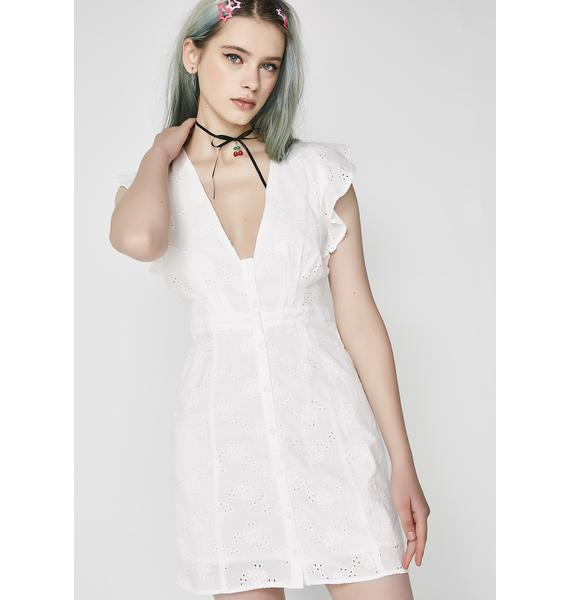 My Girl Eyelet Dress