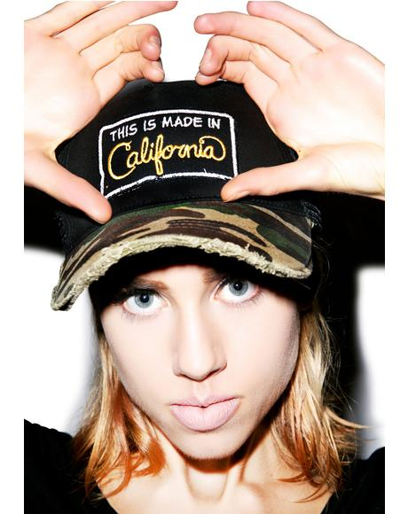 Jilly Cali Made Patch Trucker Hat