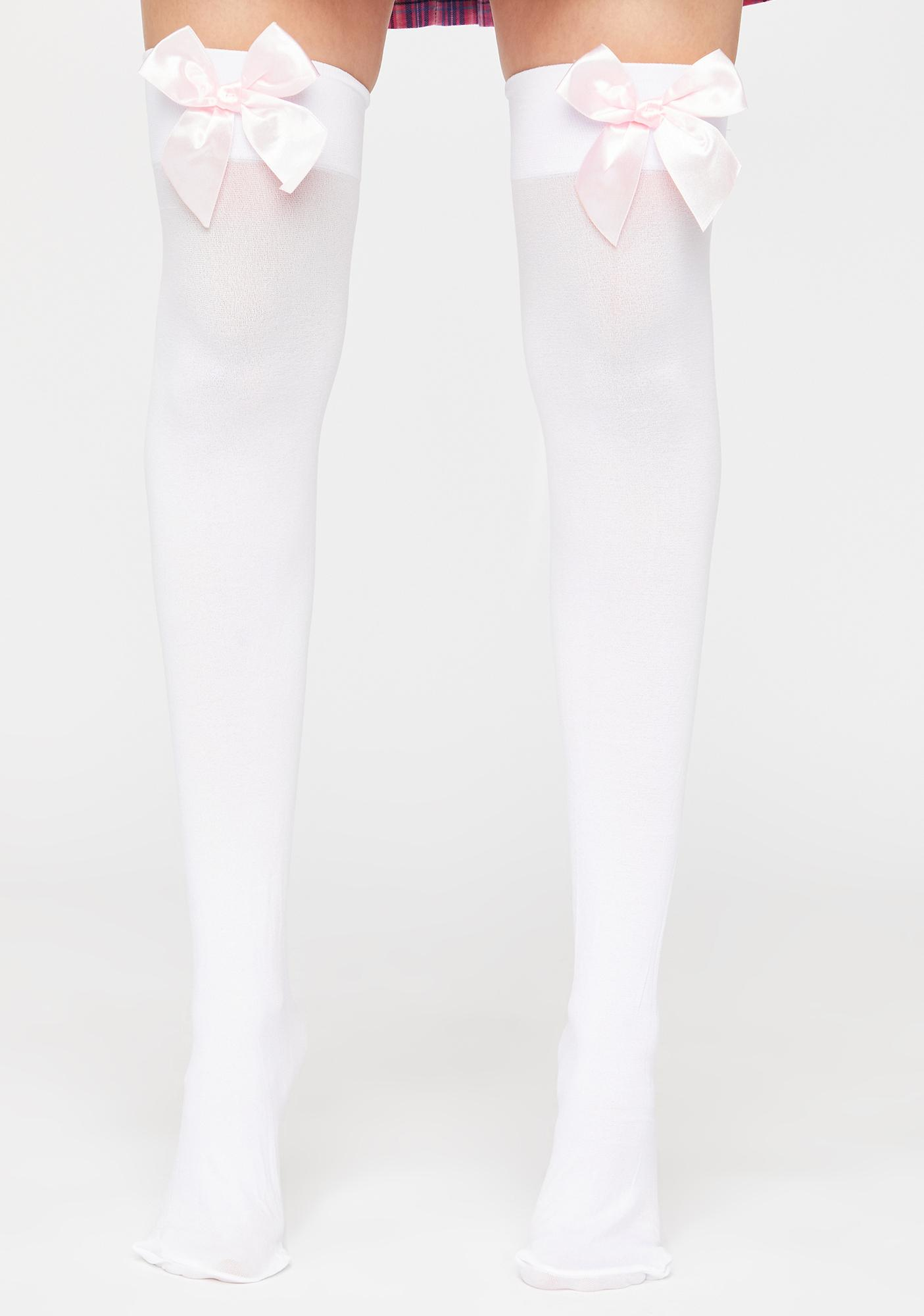 Baby I'm Over It Thigh Highs