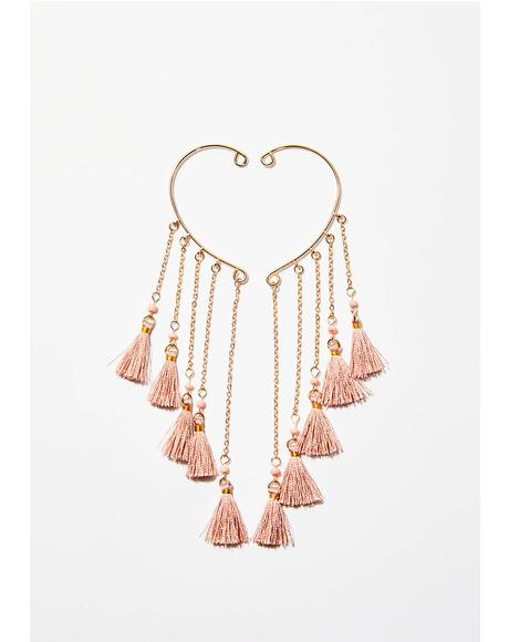 Hang On Tassel Earrings