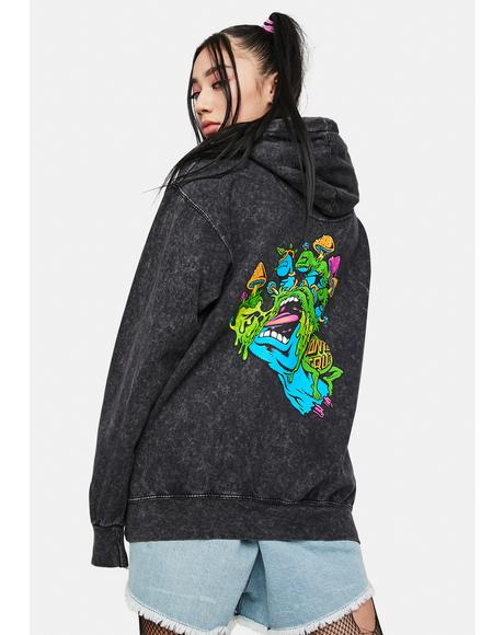 Toxic Hand Graphic Hoodie