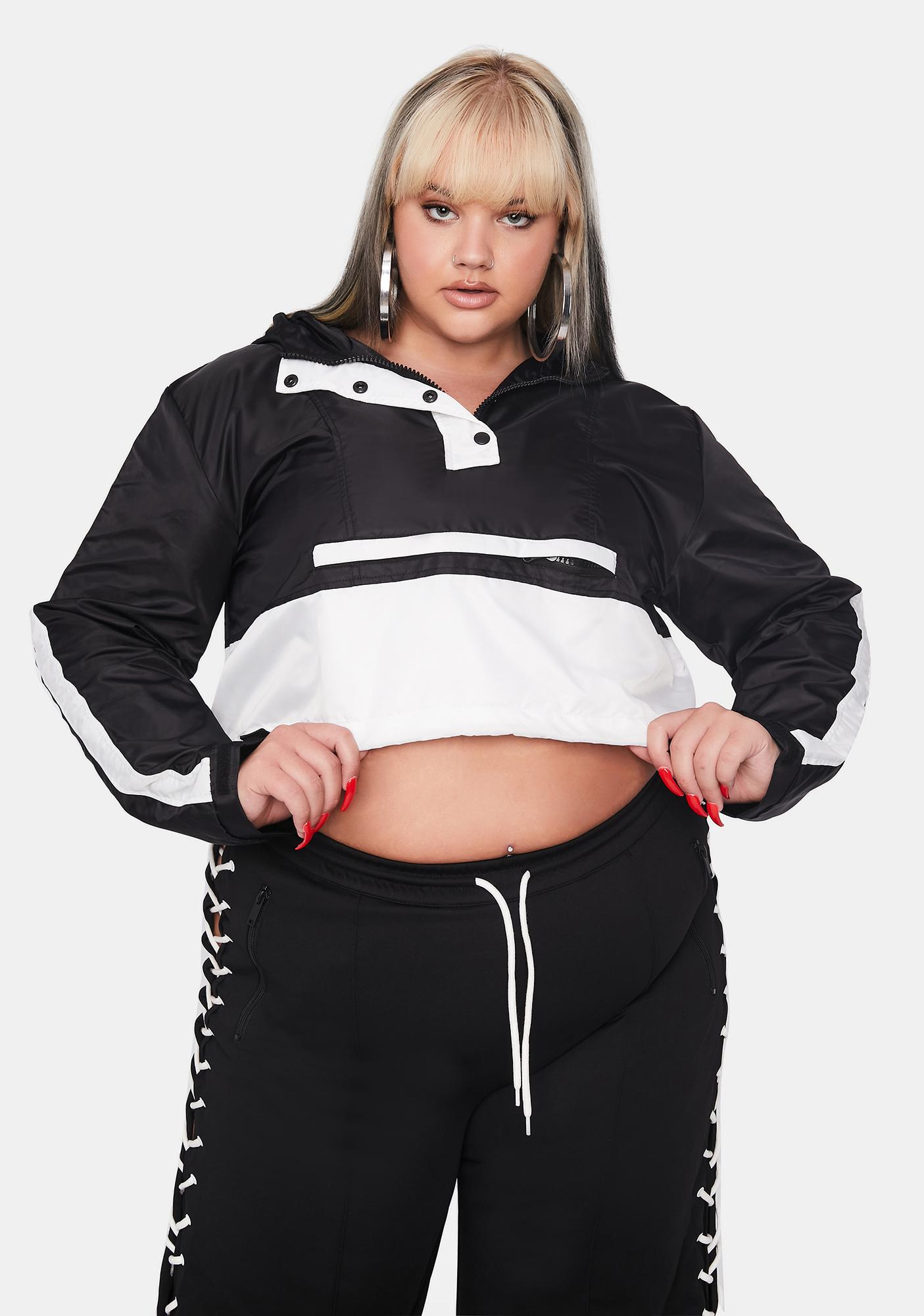 Poster Grl Playing The Long Game Windbreaker Jacket