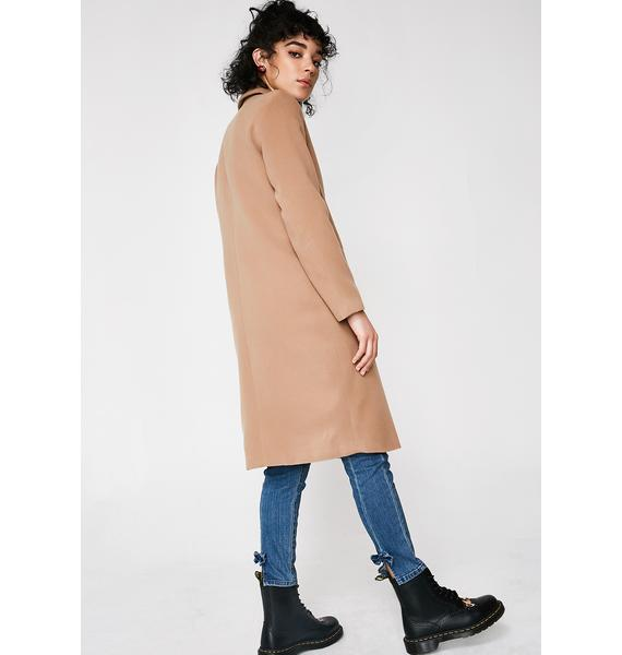 Nasty Woman Long Coat
