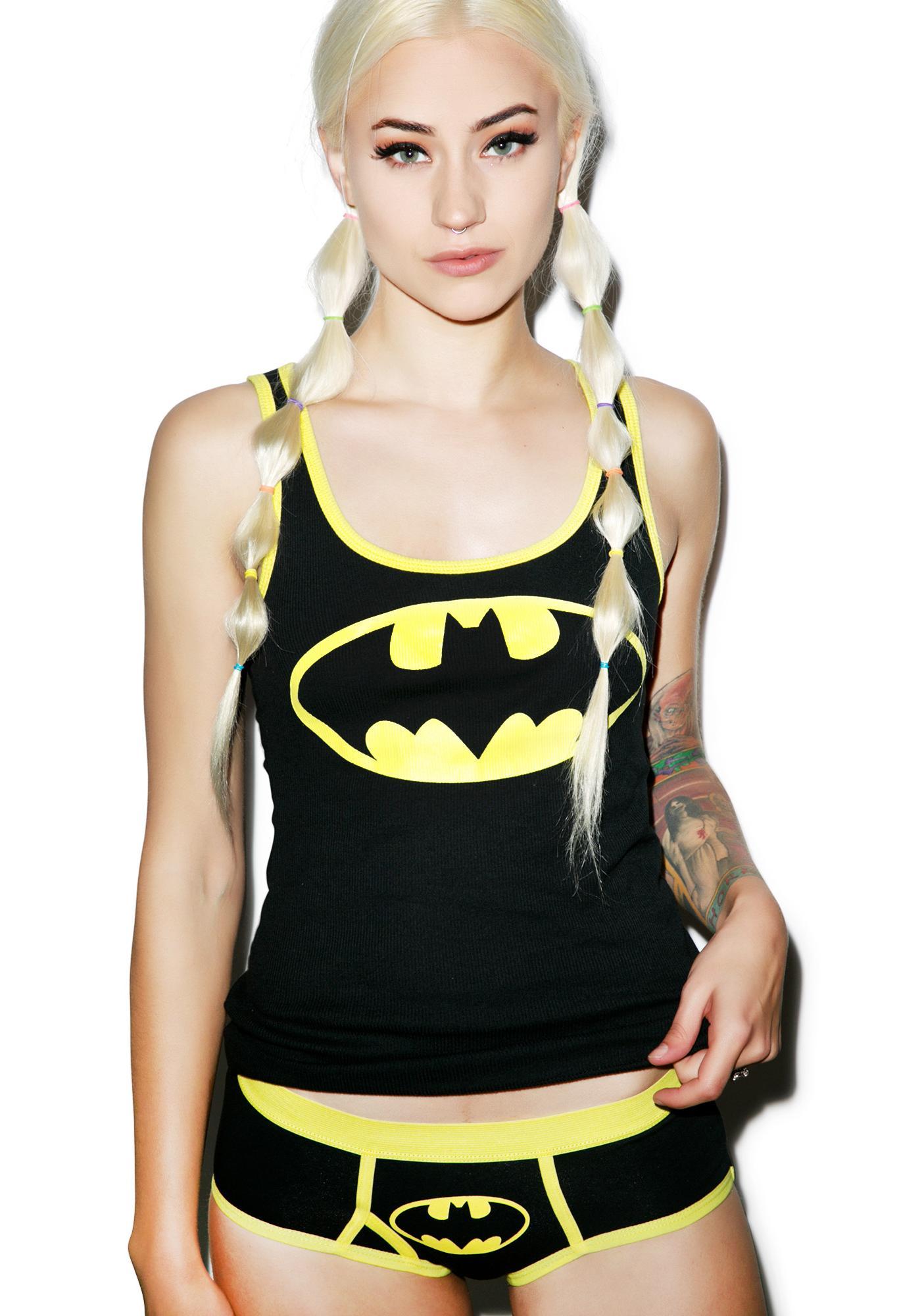 Undergirl Batman Boy Short Set