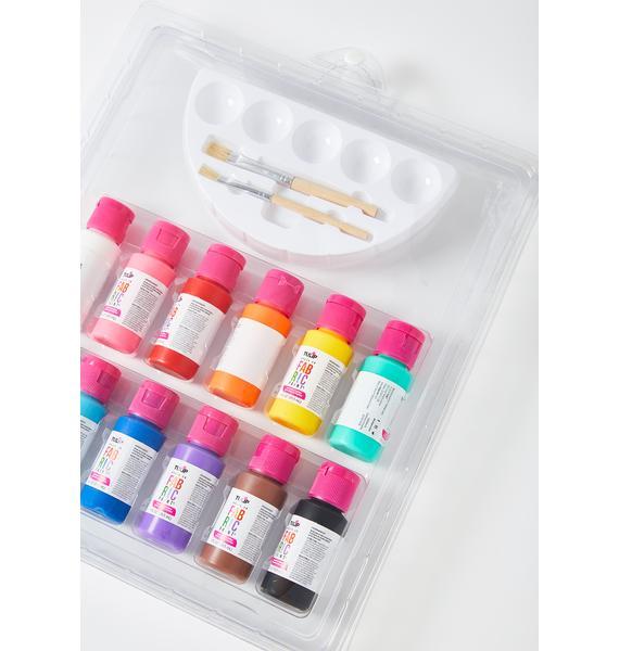 True Colors Fabric Paint Kit