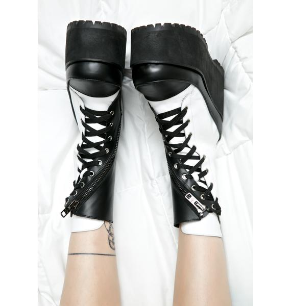 Current Mood Division Leather Twister Boots