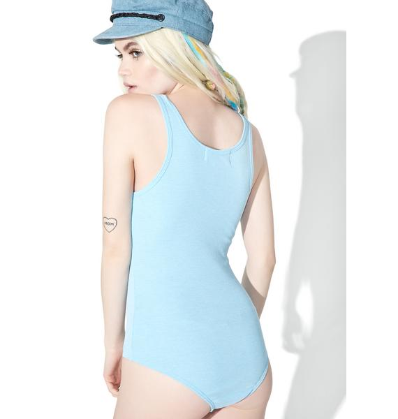 Wildfox Couture Skinny Dipper Coco Bodysuit