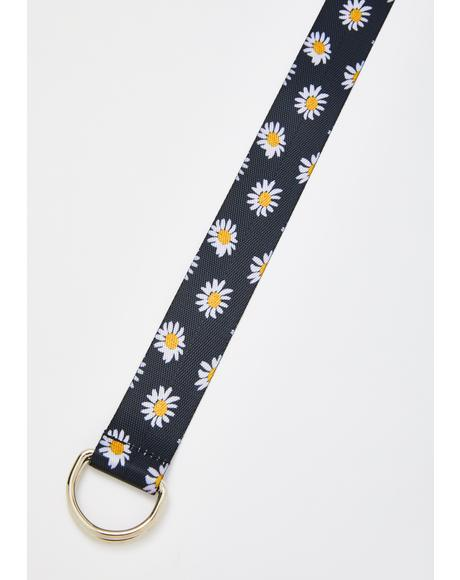 Pocket Full Of Daisies Belt