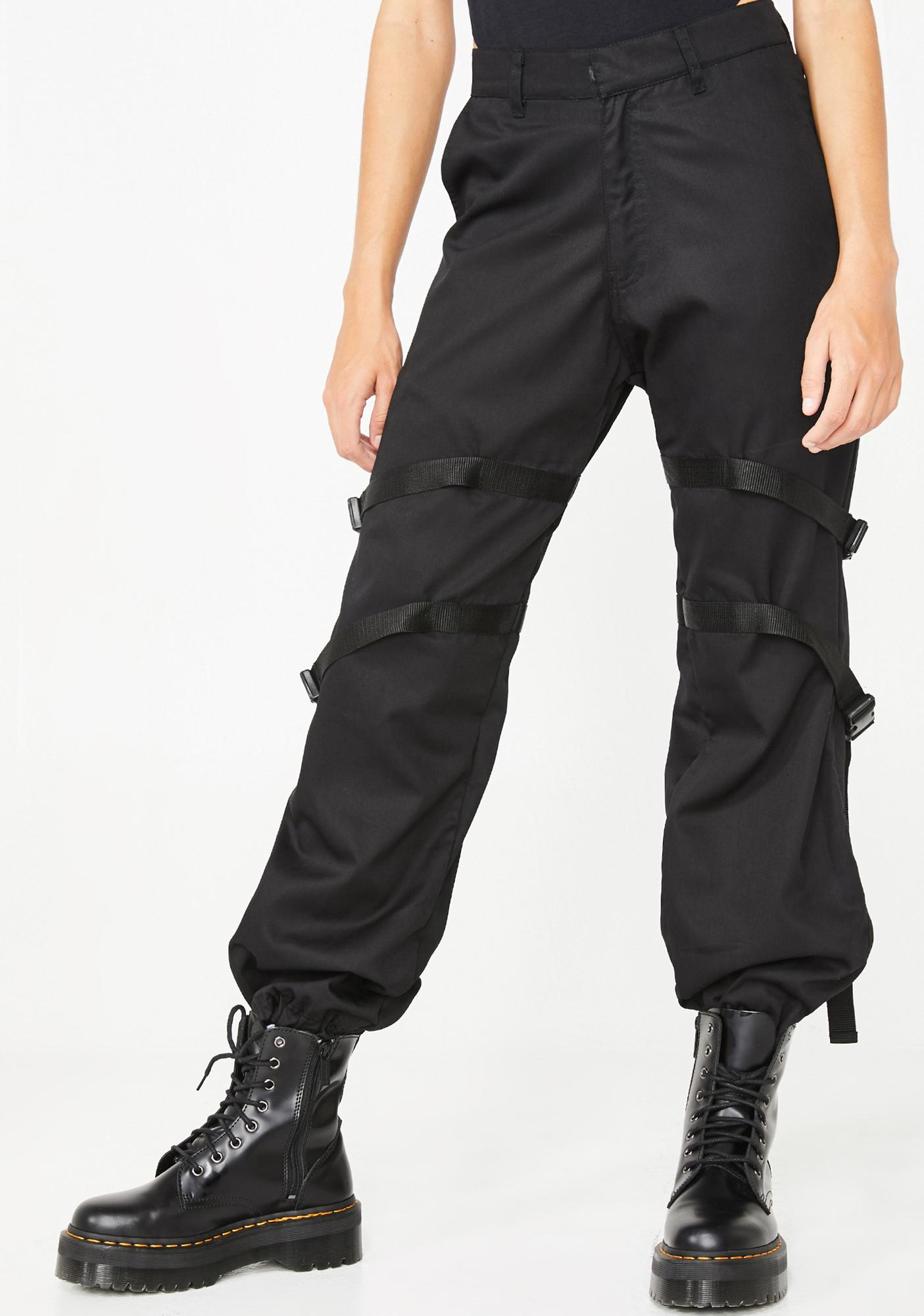 Motel Buckle Clive Cargo Trousers