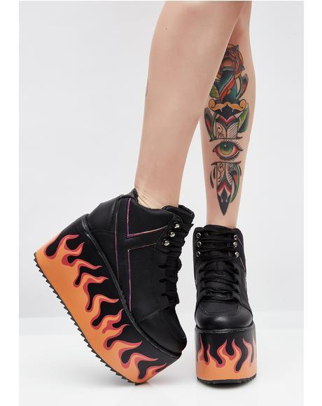 Bonfire Qozmo Platform Sneakers