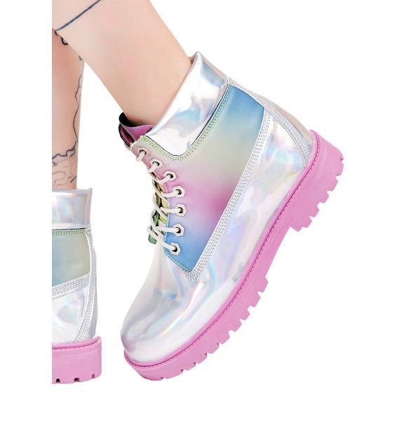 Y.R.U. Str8 Up Boots