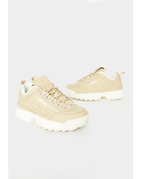 Nude Disruptor II Sneakers