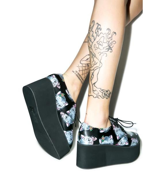Iron Fist Cat Lady Creepers