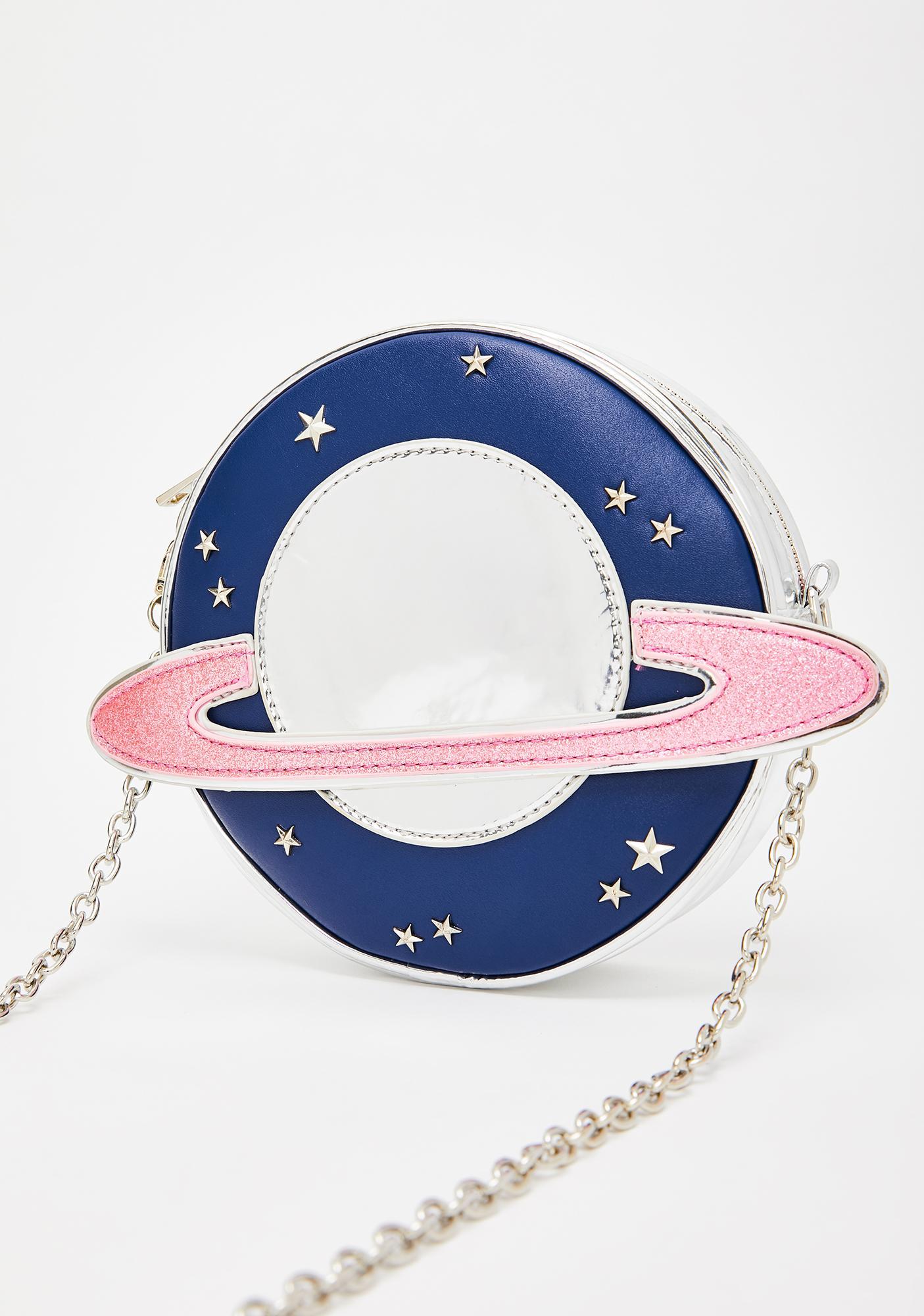 HOROSCOPEZ Rings Of Saturn Crossbody Bag