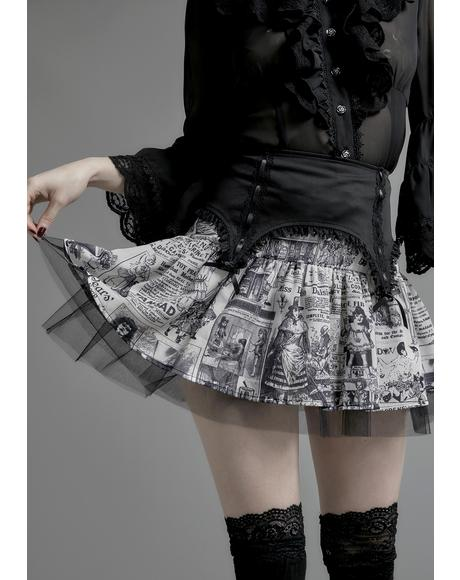 Unfortunate Events Tulle Skirt